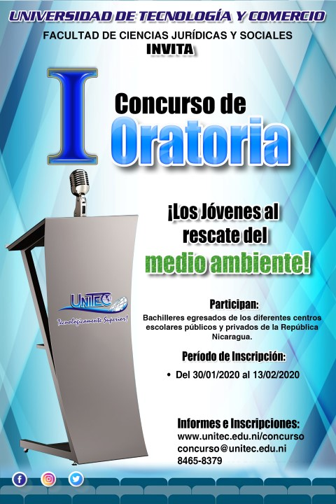 CONCURSO DE ORATORIA UNITEC 2020