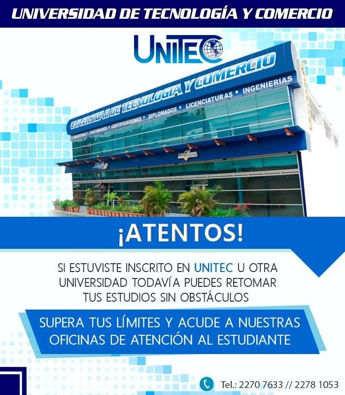BIENVENIDOS A UNITEC